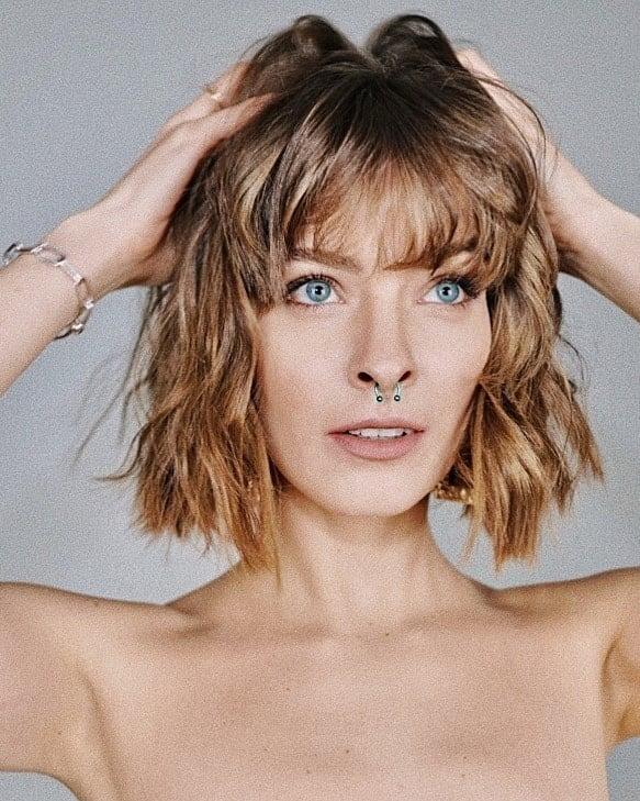 Zuza Kołodziejczyk z grzywką i nowym kolorem włosów – 2021 rok
