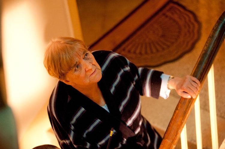 Zdjęcie (5) Agnieszka Dygant w pięknych słowach pożegnała serialową babcię Apolonię. Widać, że łączyła je szczególna więź