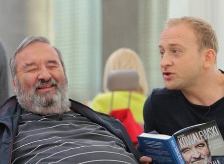Borys Szyc żegna Krzysztofa Kowalewskiego