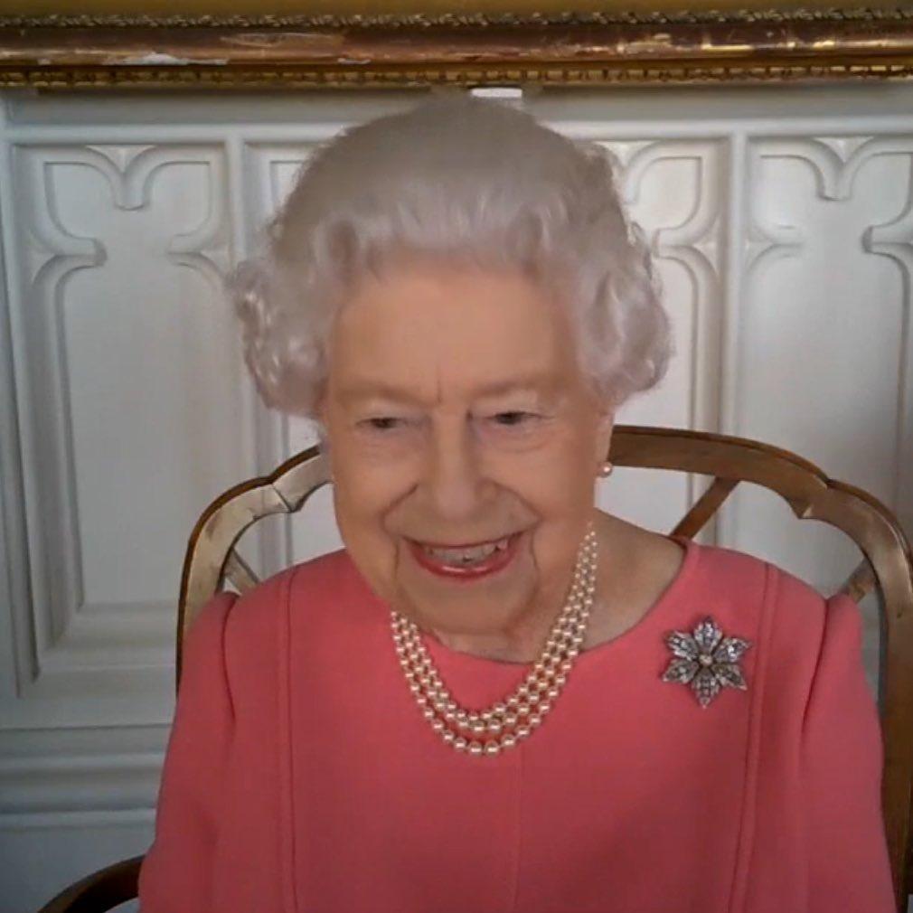 Królowa Elżbieta II o szczepieniach na koronawirusa