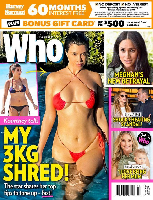 Kourtney Kardashian schudła 3 kg