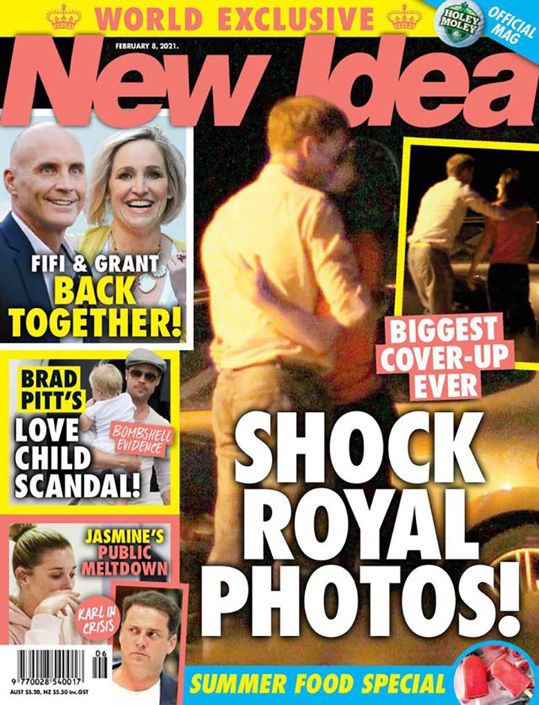 Zdjęcie (1) Książę William i księżna Kate przyłapani na czułościach. Tabloid serwuje gorące zdjęcie. Pałac próbował je ukryć
