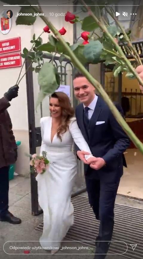 Beata Tadla ślub