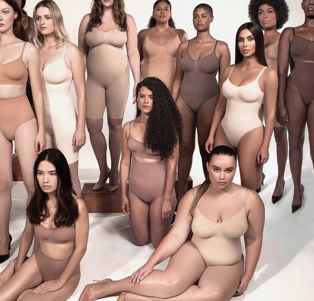 Kim Kardashian stworzyła markę bielizny Skims