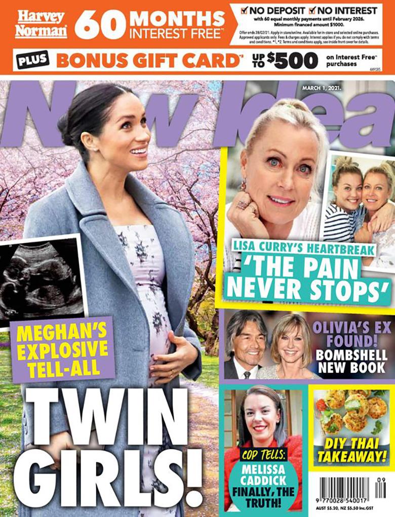 Meghan Markle urodzi bliźniaki?