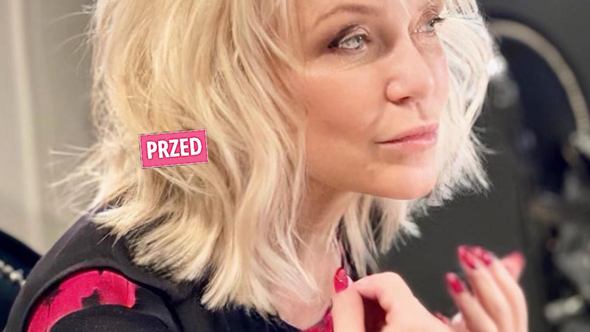 Małgorzata Ostrowska - nowa fryzura