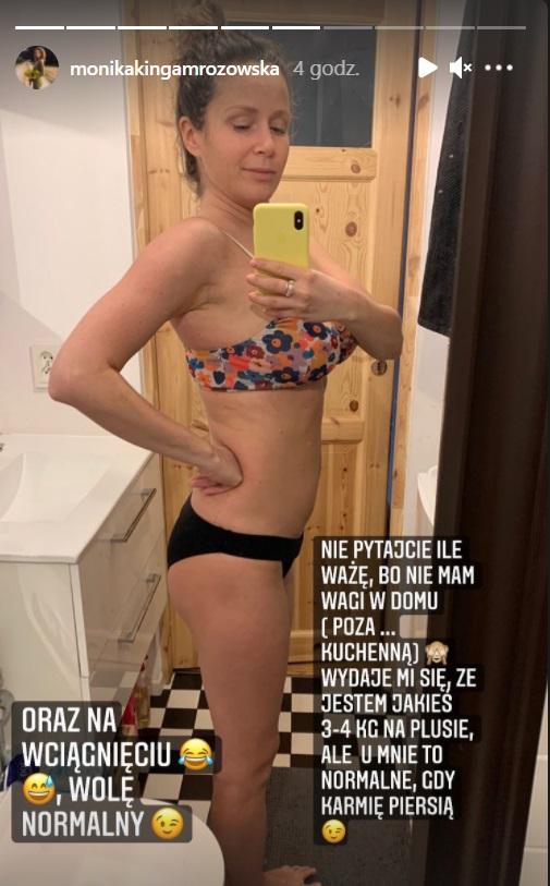 Monika Mrozowska pokazała ciało po porodzie