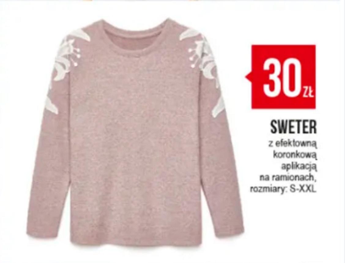 Sweter z Pepco