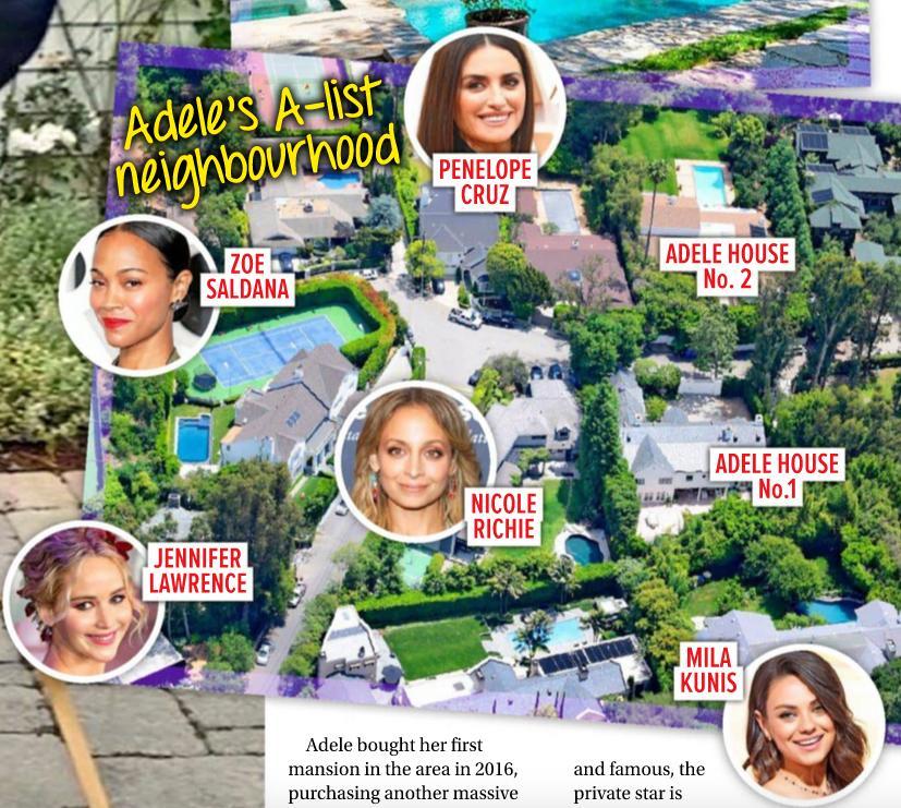 Gdzie mieszka Adele? (fot. Woman's Day)