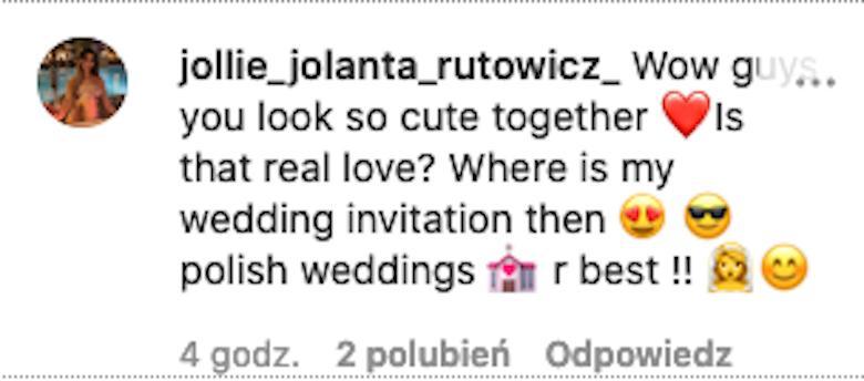 Jola Rutowicz komentuje relację Gosi Andrzejewicz i Norberta Dąbka