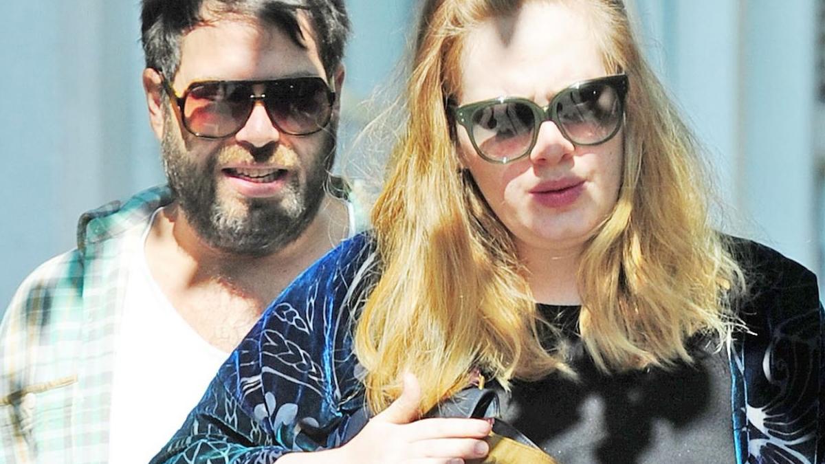Adele i Simon Konecki