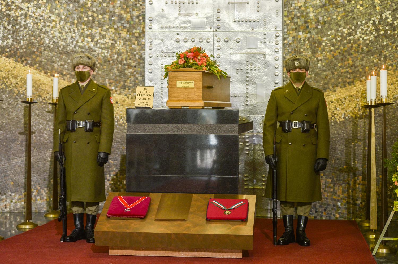 Pogrzeb Henryka Chmielewskiego - Papcia Chmiela