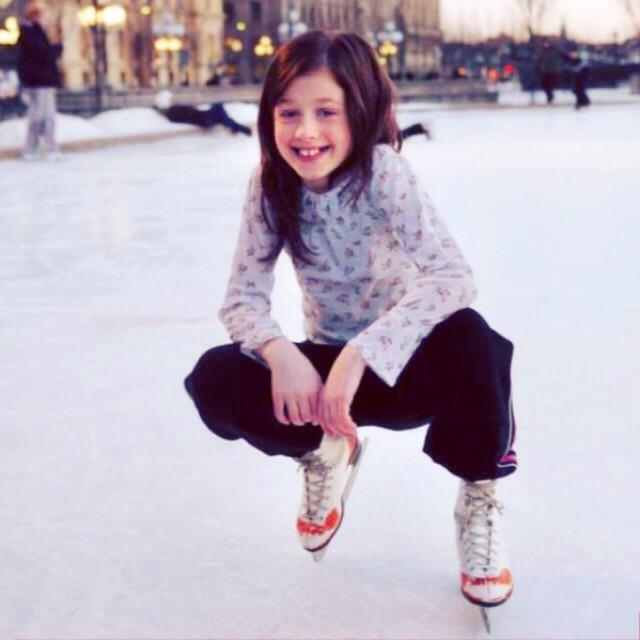 Amy Diamond w dzieciństwie