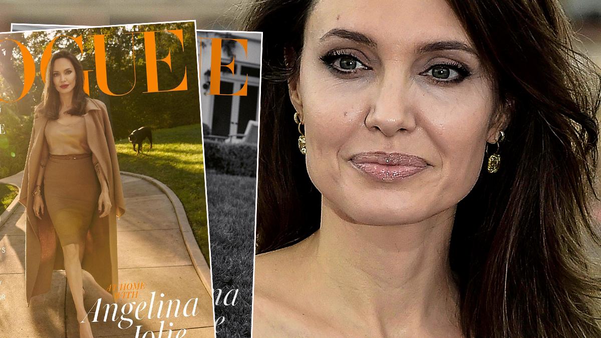 Angelina Jolie w magazynie Vogue