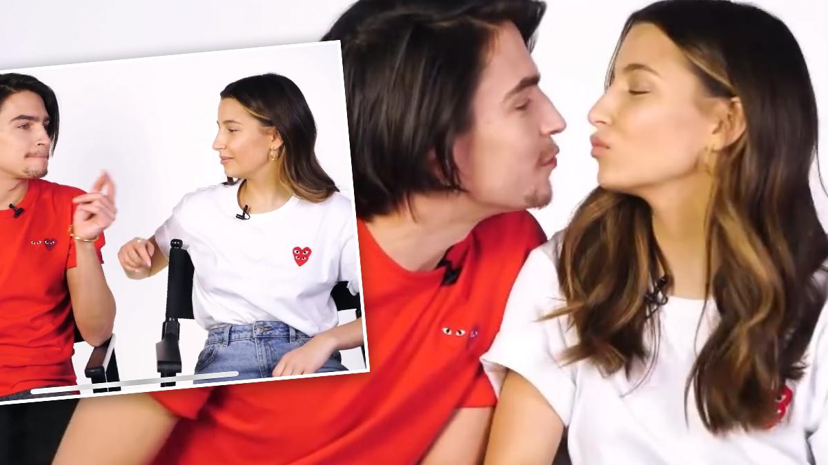 Julia Wieniawa i Nikodem Rozbicki w programie ELLE