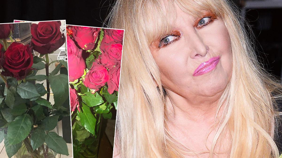 Maryla Rodowicz pochwaliła się bukietami kwiatów