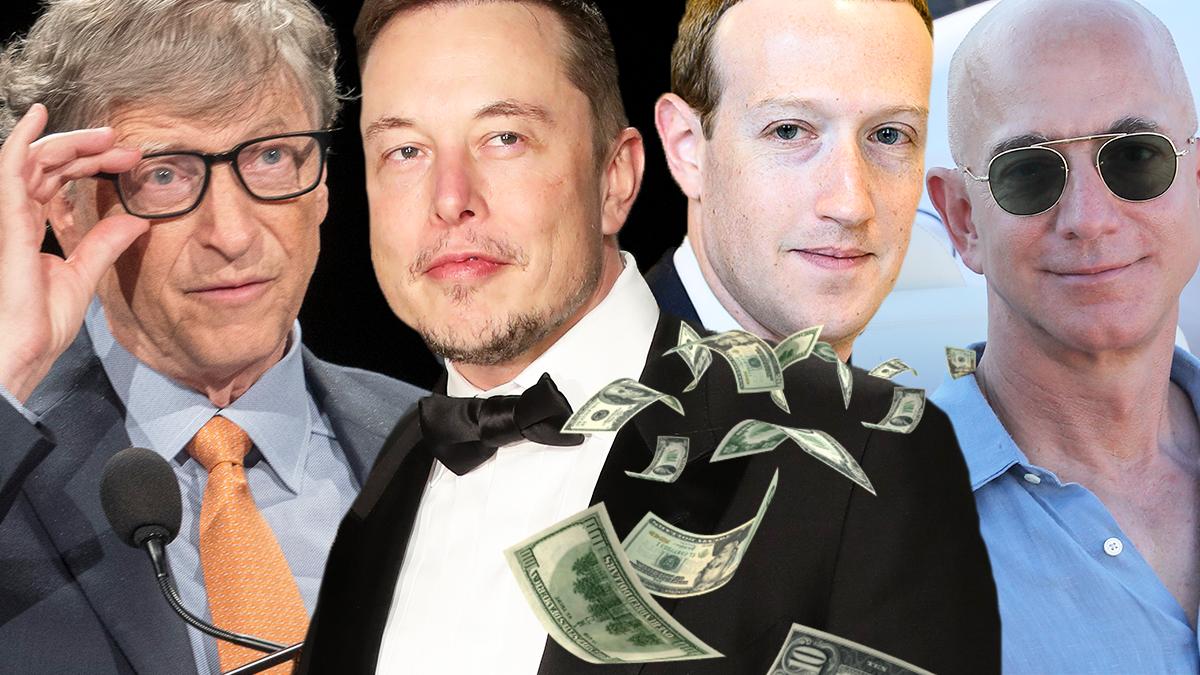 Najbogatsi mężczyźni na świecie