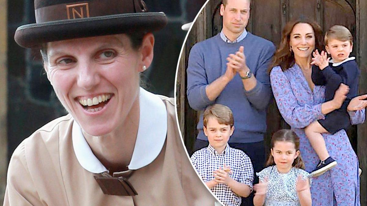 Niania i dzieci księżnej Kate