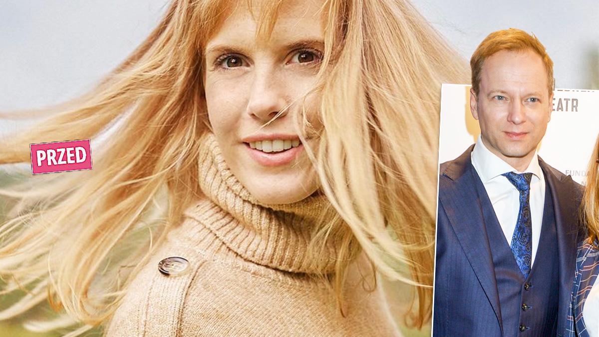 Żona Macieja Stuhra zmieniła fryzurę
