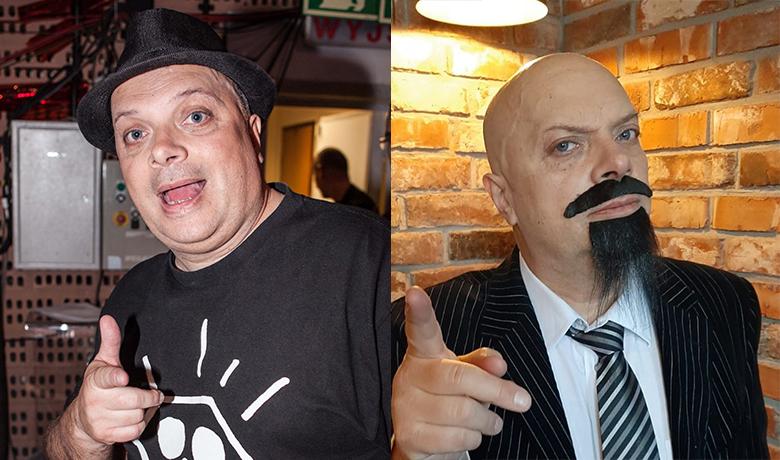 Krzysztof Skiba przed i po metamorfozie