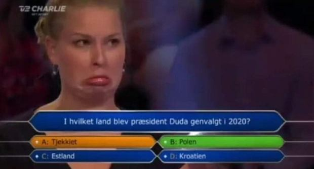 Wpadka w duńskich milionerach