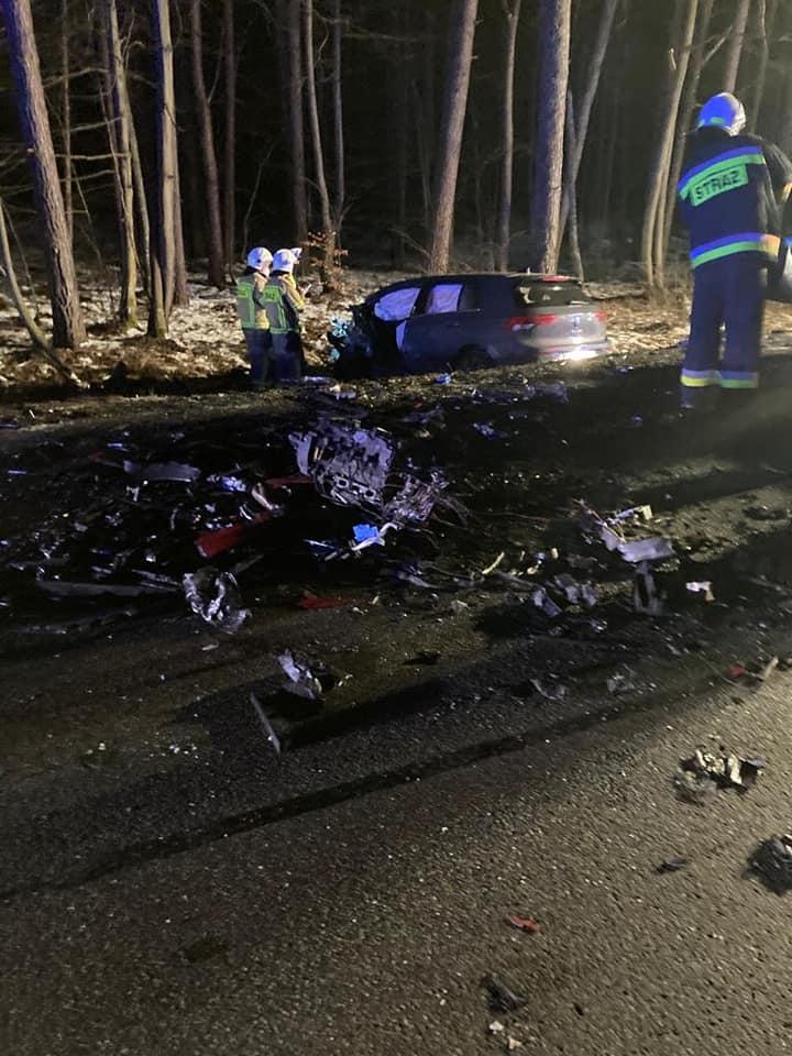 Piotr Świąc nie żyje - zdjęcia z miejsca wypadku