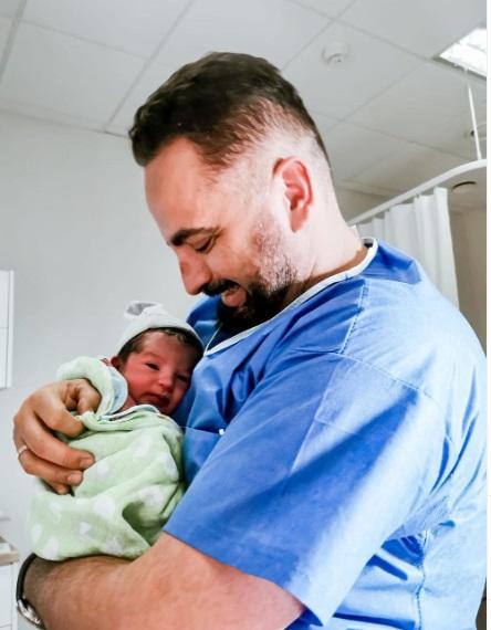 Agustin Egurrola z synem Oscarem