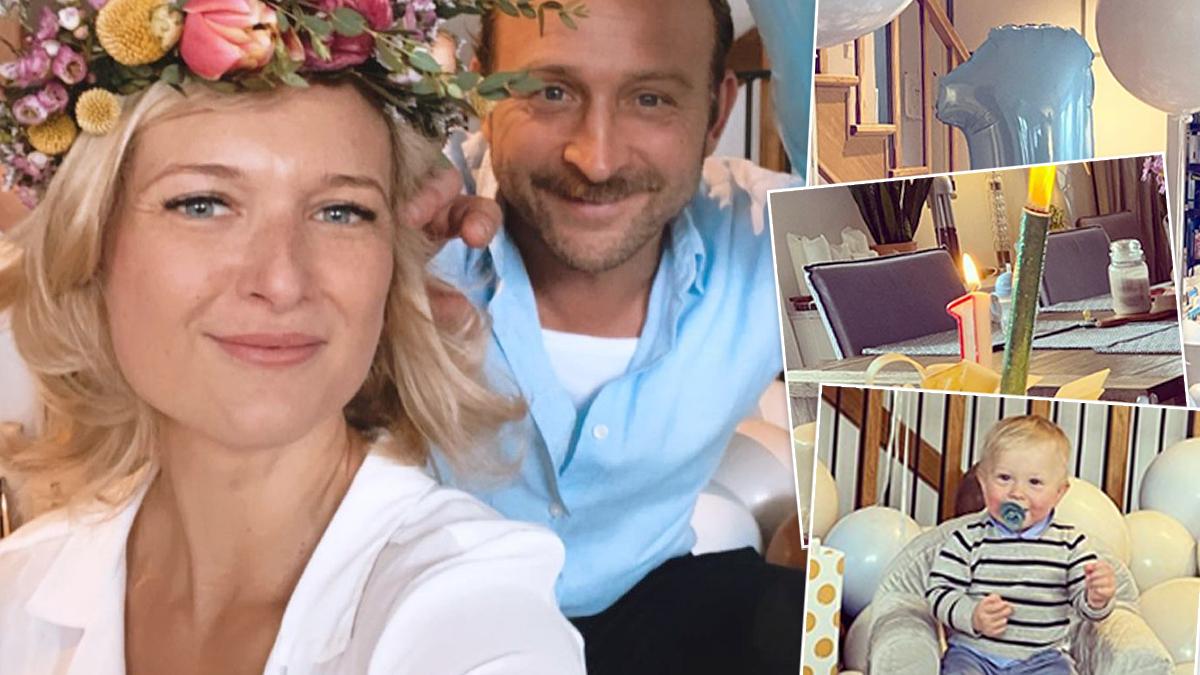 Borys Szyc i Justyna Nagłowska - urodziny synka