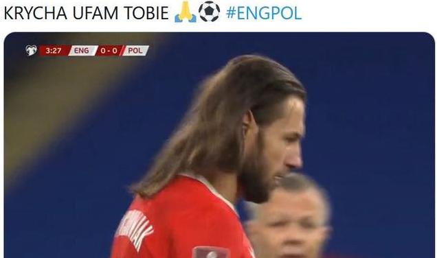 Zdjęcie (3) Grzegorz Krychowiak zaskoczył fryzurą w meczu Polska-Anglia. Fanów zamurowało, a potem… Ciekawe porównanie