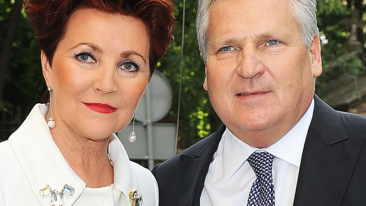 Jolanta Kwaśniewska i Aleksander Kwaśniewski