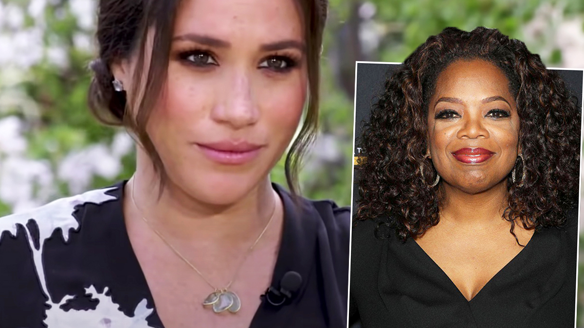 Meghan Markle Oprah Winfrey
