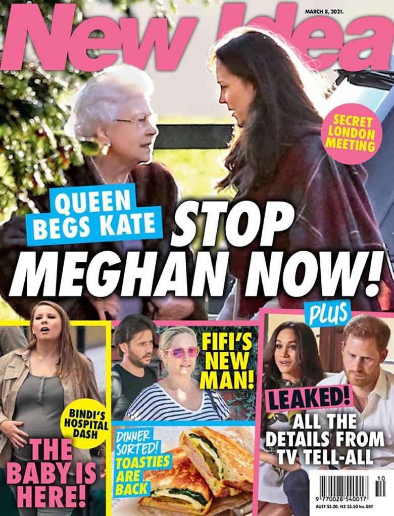 Księżna Kate i królowa Elżbieta II chcą powstrzymać Meghan Markle