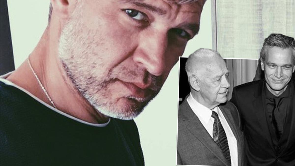 Michał Żebrowski w żałobie