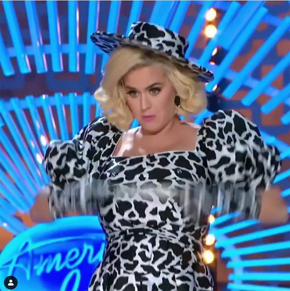Katy Perry pokazała piersi