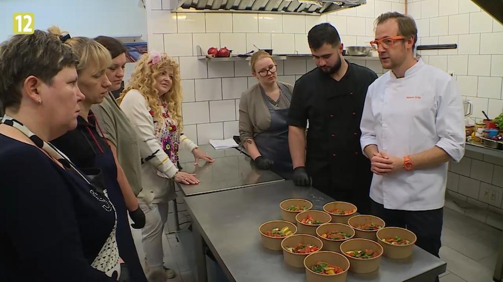 Kuchenne rewolucje w restauracji Neptun (Niezłe kino) z synem Magdy Gessler