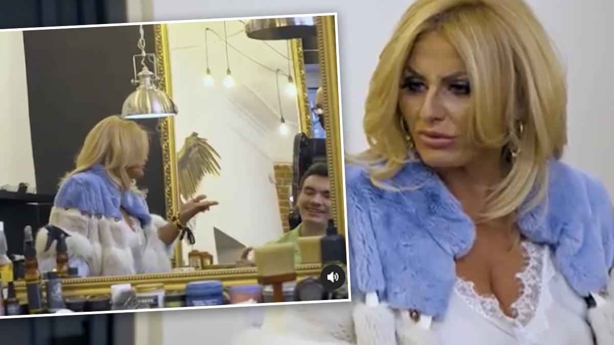 Dagmara Kaźmierska zrobiła aferę u fryzjera