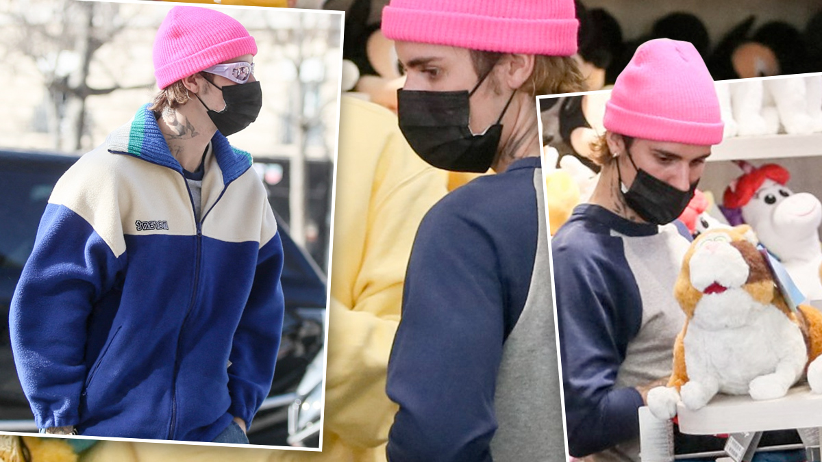 Justin Bieber w Paryżu na zakupach