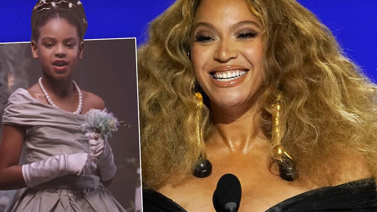 Blue Ivy i Beyonce