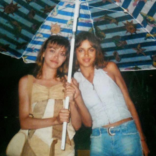 Irina Shayk dodała zdjęcie sprzed 15 lat