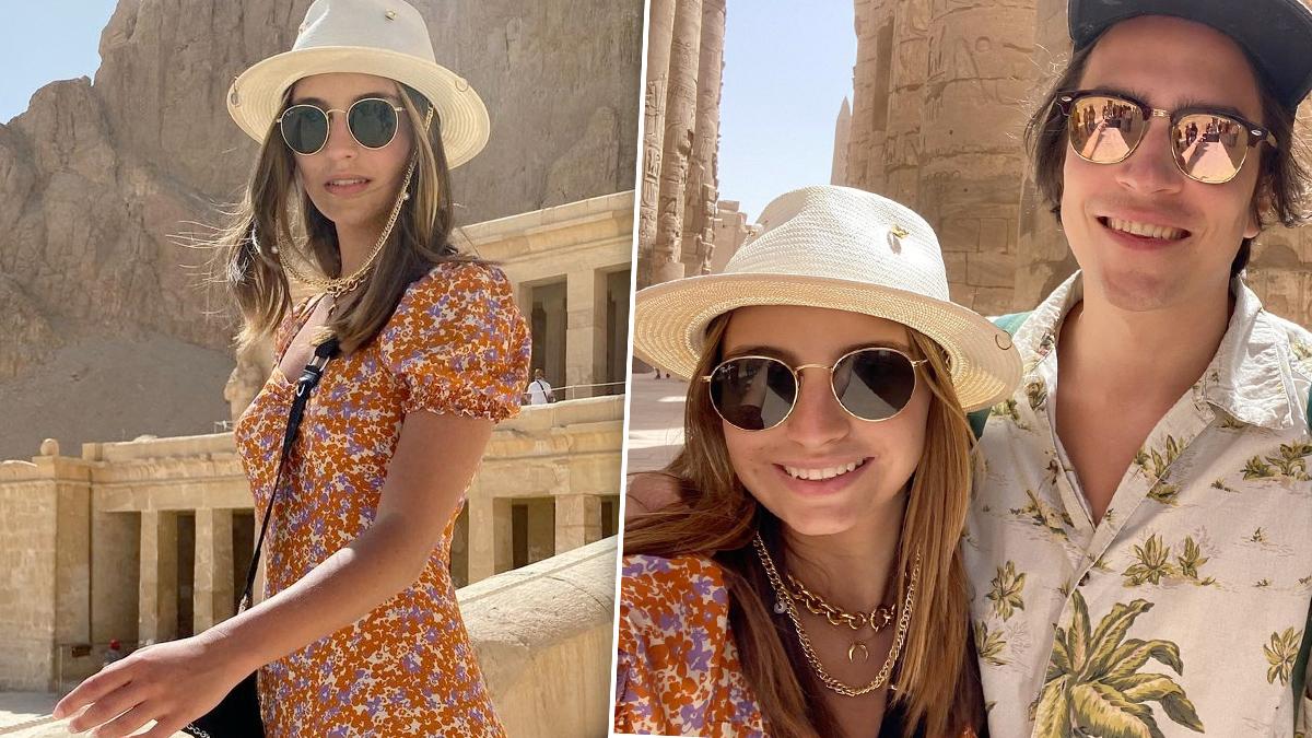 Julia Wieniawa i Nikodem Rozbicki w Egipcie