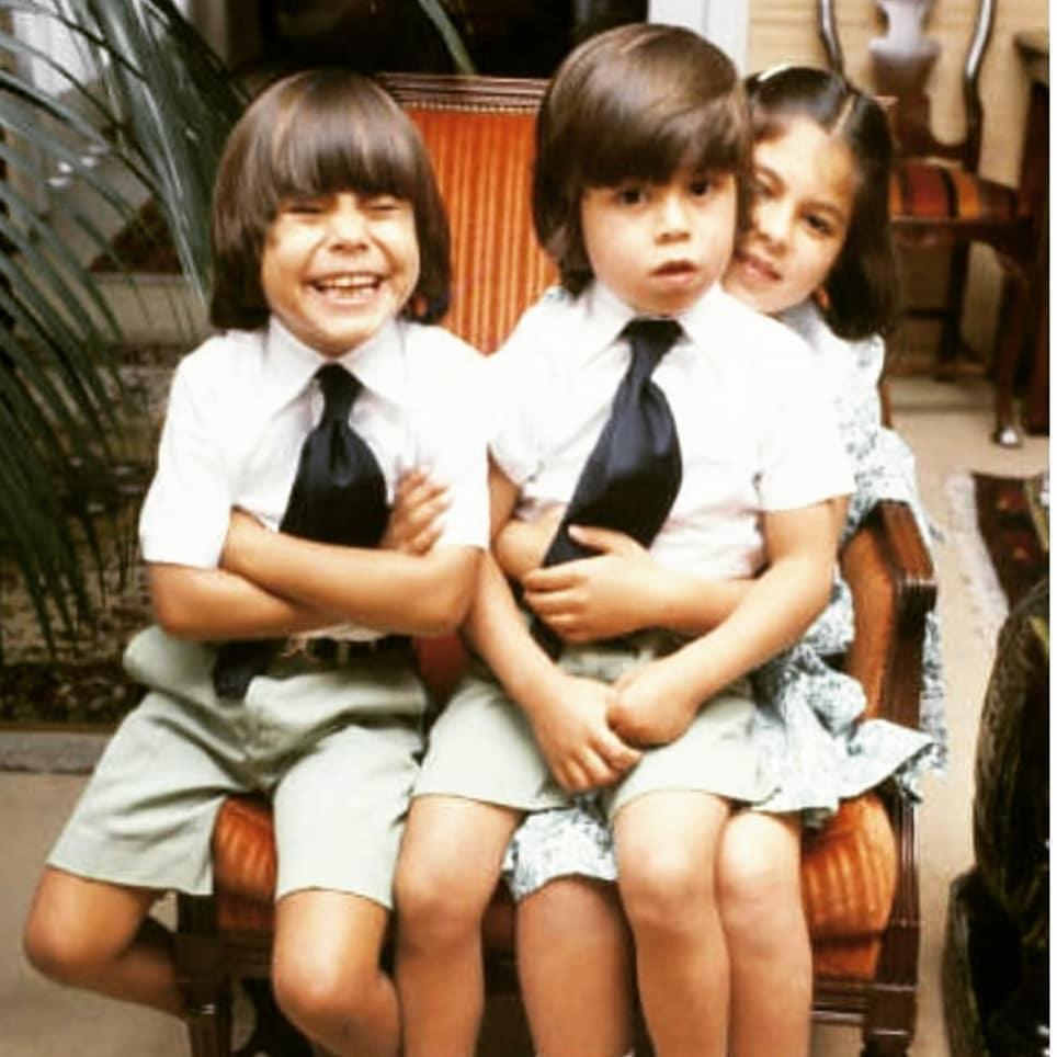 Julio Iglesias Junior w dzieciństwie