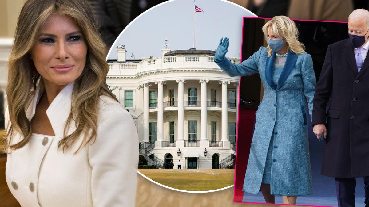 Melania Trump, Biały Dom
