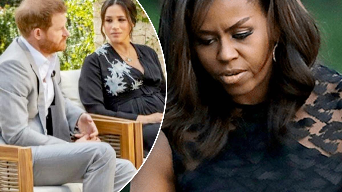 Michelle Obama o wywiadzie Meghan i Harry'ego