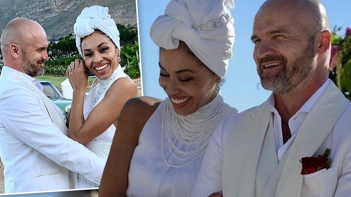 Omenaa Mensah ślub