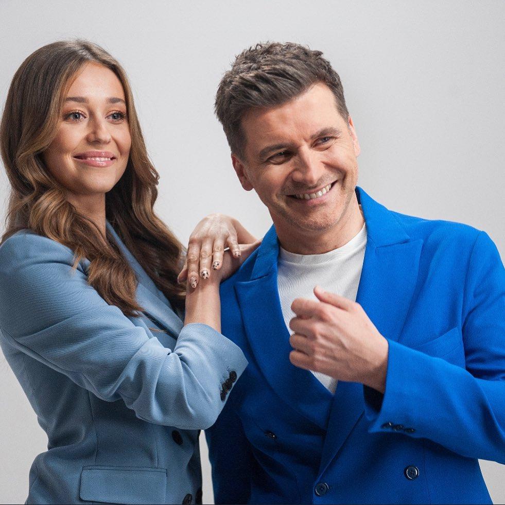 Tomasz Kammel i Izabella Krzan w Pytaniu na śniadanie