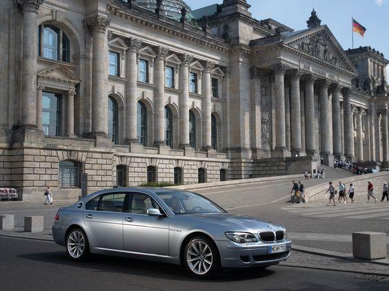 Auta Agneliny Jolie - BMW Hydrogen 7