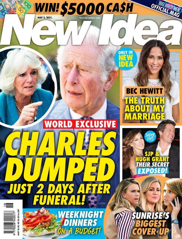 Camilla złamała serce księcia Karola