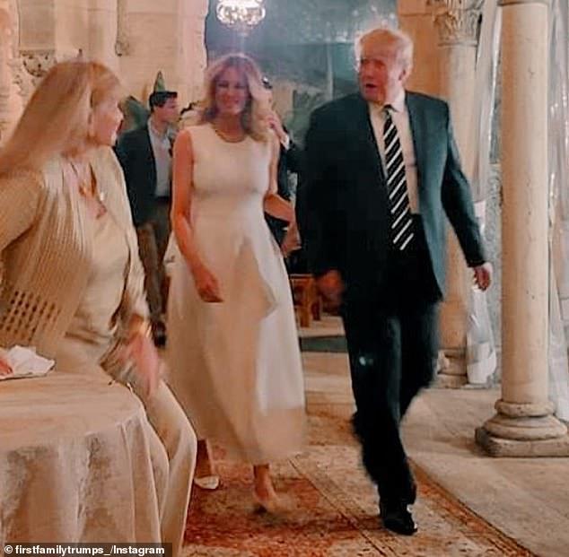 Melania Trump i Donald przyłapani na wakacjach