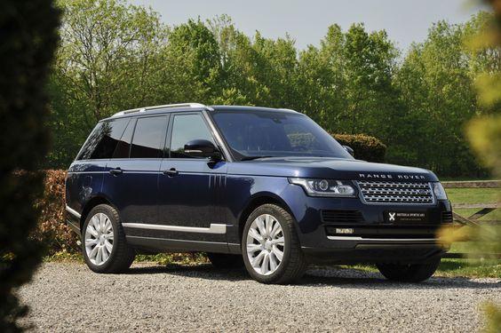 Auta Agneliny Jolie - Range Rover Vogue 4x4, 4.4 SDV8