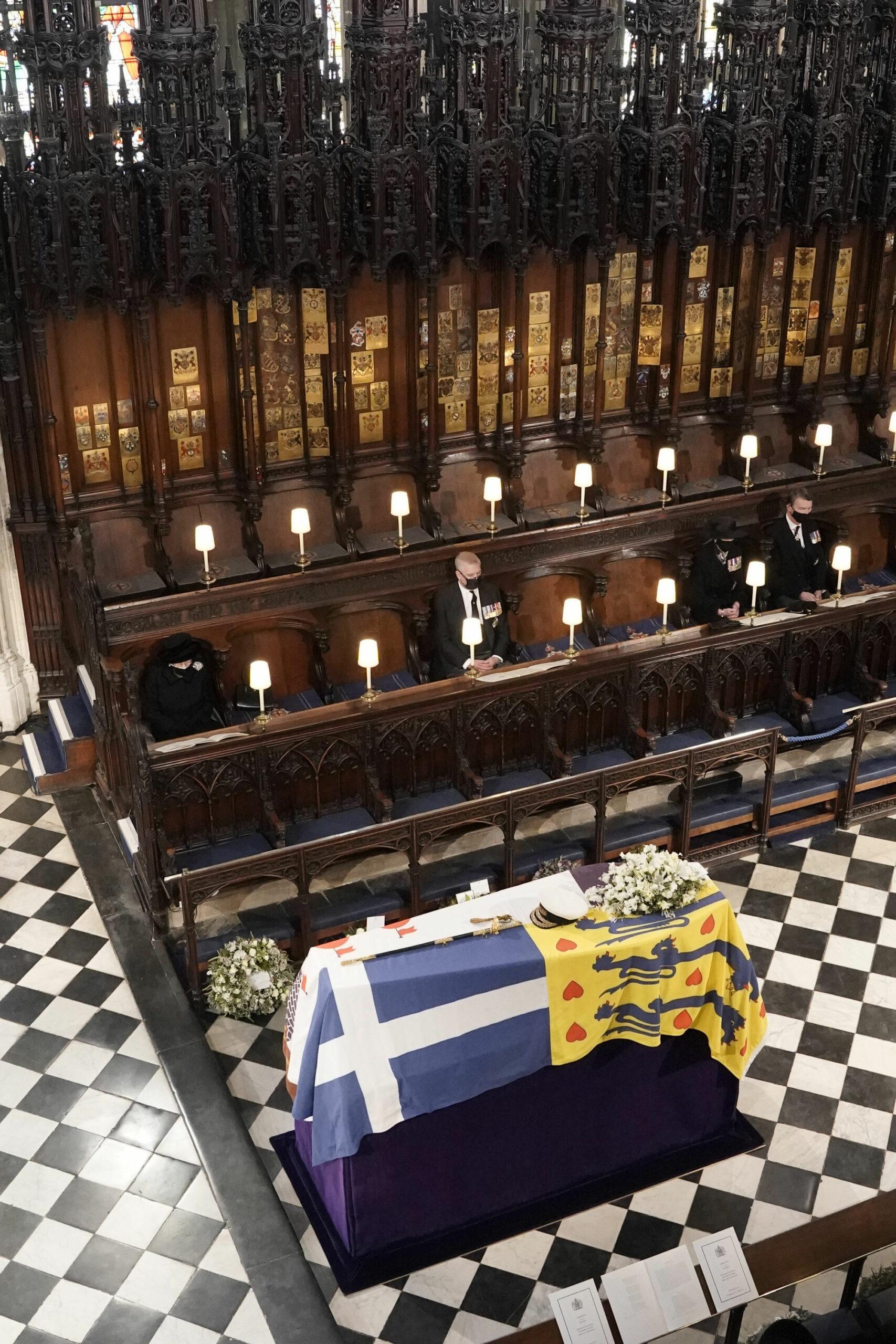 Pogrzeb księcia Flipa